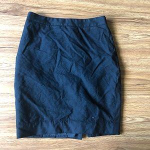 Black Pencil Skirt J. Crew